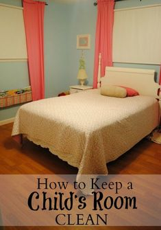 After lots of fighting with my daughter about keeping her room clean. I finally realized I had set her up for failure. Find out why and our new strategy. How to Keep a Child's Room Clean - We Got Real