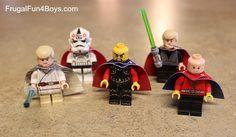 Lego Fun Friday:  Make a Duct Tape Lego Cape