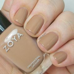 Painted Nubbs: Zoya Naturel Deux Collection Swatches- Spencer