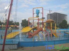 Water Sports at Lumbini Gardens, Bangalore