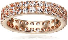 Rose Gold-Plated Silver Morganite Round Double Row Eternity Ring, Size 7 Amazon Collection http://www.amazon.com/dp/B014XMNBAG/ref=cm_sw_r_pi_dp_dsoTwb015WBNQ