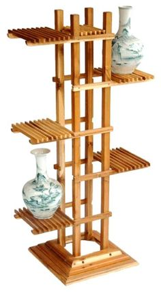 plant stand wood plans - Google Search