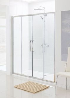 Shower framed sliding door shower enclosure Was from £537.60 Now from £327.92