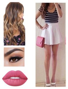 """Untitled #653"" by ashleyclairec ❤ liked on Polyvore featuring Lime Crime"