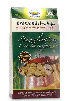Die Erdmandel-Chips von Godvina, um 3 Euro