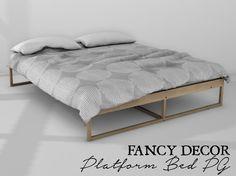Fancy Decor: Platform Bed (PG)