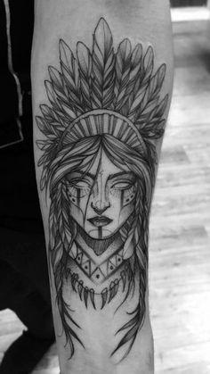 Forarm Tattoos, Leg Tattoos, Body Art Tattoos, Small Tattoos, Tattoos For Guys, Sleeve Tattoos, Indian Girl Tattoos, Indian Skull Tattoos, Wolf Tattoo Design