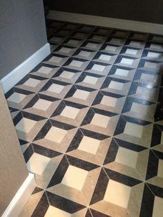 design indulgence: painted floor