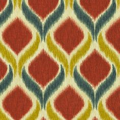 SMC Swavelle Millcreek Home Decor Print Fabric Oro Twill Royale