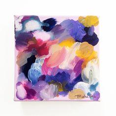 Robbie Original Acrylic Abstract Color Study