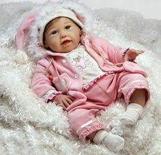 Introducing one of the most realistic and lifelike baby dolls at a price any collector could afford!  Bring home this little one to your hom...
