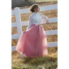 Womens Full Lengthtutu Rose Pink Tulle Skirt Mauve Pink Tutu Long... ($100) ❤ liked on Polyvore featuring skirts, grey, women's clothing, plus size maxi skirt, ballet tutu, long maxi skirts, long gray skirt and long tutu skirt