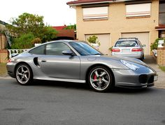 A welcome guest rolled into my street today and I couldn't help but drag the camera out. Porsche 996 Turbo, 911 Turbo, Twin Turbo, Vintage Sports Cars, Sweet Cars, Car In The World, Hot Wheels, Cars Motorcycles, Cool Cars