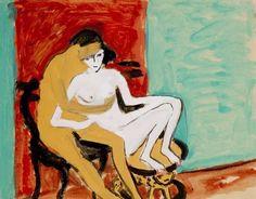 """ernstludwigkirchner: """" Liebespaar oder junges Para (1910) € 205,000 (Galerie Christie's, 2010) """""""