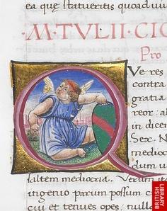 Image result for medieval manuscript epistles cicero