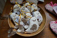 lavender bird decorations www.facebook.com/MsMatched Bird Decorations, Bag Pins, Lavender Bags, Pin Cushions, Gingerbread Cookies, Ms, Facebook, Lavender, Gingerbread Cupcakes