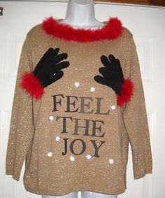 Ugly Sweater Party, haha!