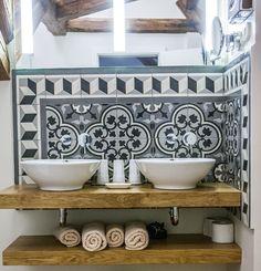 A panoráma szobánk fürdőszobája. Cement, Sink, Vanity, Bathroom, Hungary, Instagram, Home Decor, Art, Pictures