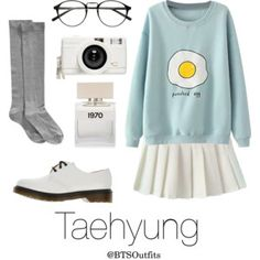Cute/Flirty Outfit with Taehyung