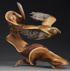 Корнепластика. Скульптор J Christopher White