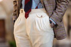 "giorgiogiangiulio - ""  Neapolitan trousers @cerratomarco  by @fabriziodipaoloph  ____________________________________________________ #me #menstyle #menswear #mensfashion #menwithclass #bespoke #beautiful #bestoftheday #love #sartoria #italy #swag #rolex #fashion #sprezza #dandy #dapper #style #sprezzatura #watch #tudor #ootd #igers #classic #class #napoli #sartorial #trousers #moda #luxory  """