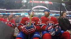 New party member! Tags: hockey nhl ice hockey canadiens montreal canadiens head tap head bump headbump