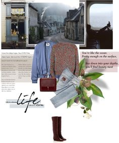 """Gray Day"" by daha-mk on Polyvore"