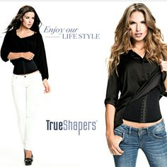 Our waist cincher @trueshapers perfect for every day use