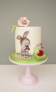 Christening cake by daruj tortu