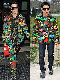 Kopycat Kris! The Many Fashion Faceoffs of Kris Jenner | KRIS VS. DEREK ZOOLANDER  | Is Kris Jenner getting style tips from THE Derek Zoolander now? Will she be making a cameo in the sequel? It's all unclear, but we do know she has the same multicolor camouflage Valentino windbreaker as the fashion icon.
