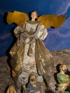 Petaluma Photograph - Angel In Petaluma California Usa Dsc3766 by Wingsdomain…
