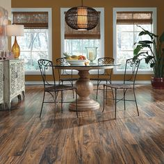 "Riveria Teak laminate is a stunning 8"" wide plank that brings home the look of an exotic tropical hardwood native to southeast Asia: http://www.mannington.com/…/Resto…/Riviera%20Teak/28111.aspx"
