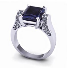 #myboy #mylove #myring #k18 #whitegold #diamonds #sapphire #stone #lovestone #3,59ct #goldsmiths #jewellery #jewellerylove #tzompanakis_jewellery #shape #blueblack