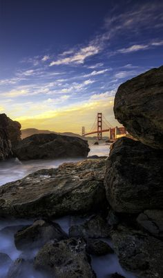 ~~49 In The Shade | Golden Gate Bridge view from Marshall's Beach, California | by Timothy Poulton~~