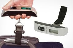 Digital Luggage Scale from £7.99 With Free Delivery (Up to 66% Off) #Digital #Luggage #Scale #Digital Luggage #Digital Luggage Scale #Travel #Suitcase #Groupon #Groupon deals #Groupon UK