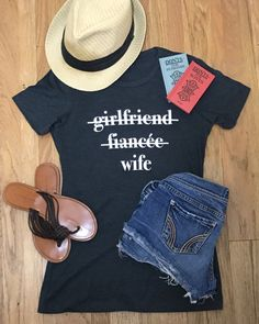 Perfect for the honeymoon! In addition to bridal gowns, we have tons of cute t-shirt options for brides and bridesmaids.