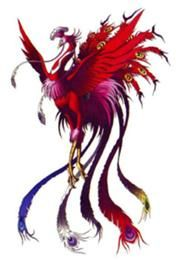 Suzaku-Persona 3 version. The Vermilion Bird is one of the Four Symbols of the Chinese constellations (Si Xiang) along with White Tiger, Xuanwu and Azure Dragon. According to Wu Xing, the Taoist five-elemental system, it represents the fire-element, the direction south, and the season summer correspondingly. Thus it is sometimes called the Vermilion Bird of the South and it is also known as Suzaku in Japan and Jujak in Korea. Suzaku is an elegant and noble bird in both appearance and…
