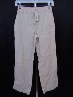 "J. Jill Corduroy Pants Light Beige 100% Cotton 29"" Inseam NWT Size 2P Petite #19 #JJill #Corduroys"