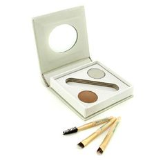 Jane Iredale Bitty Brow Kit - Blonde (1x Brow Powder  1x Brow Wax  3x Applicator) 2.4g/0.085oz 28.50 USD