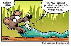 Karikaturiks | Gülümse biraz.!: Yemeğin Ortasında :) Bowser, Dc Comics, Allah, Haha, Geek Stuff, Cartoon, Humor, Fictional Characters, Marmaris