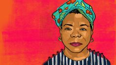 Today we celebrate the birth of Maya Angelou, whose words inspired and continue to inspire a generation. Our designer, Nathalie Gonzalez (http://nathaliegonzalez.com/), paid homage to the iconic poet and civil rights activist in this vibrant illustration. Check out our website for more on Maya Angelou's legacy.