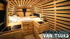 Japanese Inspired Van Tour with Pro Travel Photographer - YouTube Camper Interior Design, Campervan Interior, Camper Life, Diy Camper, Van Design, House Design, Minivan Camper Conversion, Tiny Mobile House, Diy Van Conversions