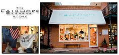 Our storefront, 32 S. Section Street Fairhope, AL