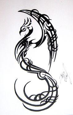 Phoenix | Tribal_Phoenix___1___by_My_World_Order