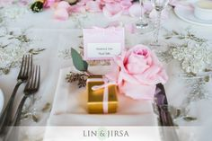 Lovely guest favor boxes