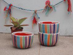 Bowls de cerámica, $110 en https://ofeliafeliz.com.ar