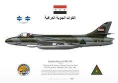 Iraqi Air Force . القوة الجوية العراقية No.29 Squadron. Habbaniya AB, 7 June 1967