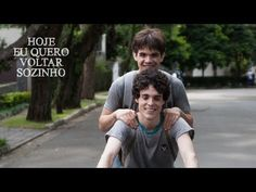Trailer Oficial - Hoje Eu Quero Voltar Sozinho (The Way He Looks). Based on short film Eu Não Quero Voltar Sozinho. Gotta see this :3