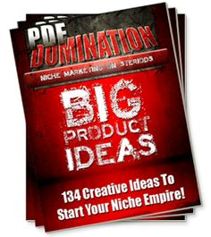 PDF Domination - Create PDF Products-12 Video Course!! Anyone - literally anyone - can become a a highly successful information publisher no matter what their skills, education or background.  The Internet has leveled the playing field and allowed the small entrepreneur to play on the same field as the big corporate, which means the earning potential is enormous!
