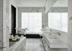 JedyneTakieWnetrza: Marmurowa łazienka...